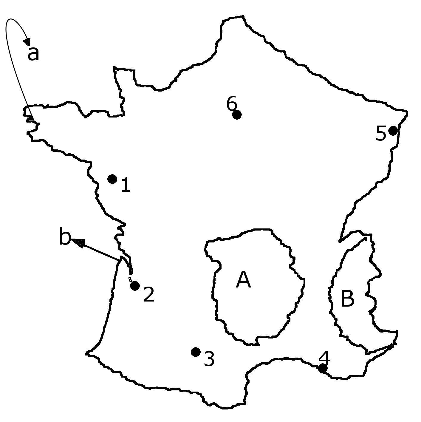 Harta Muta Franta
