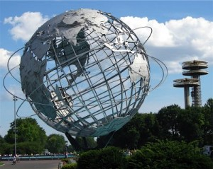 Unisphere in Queens 300x239 Globul pamantesc