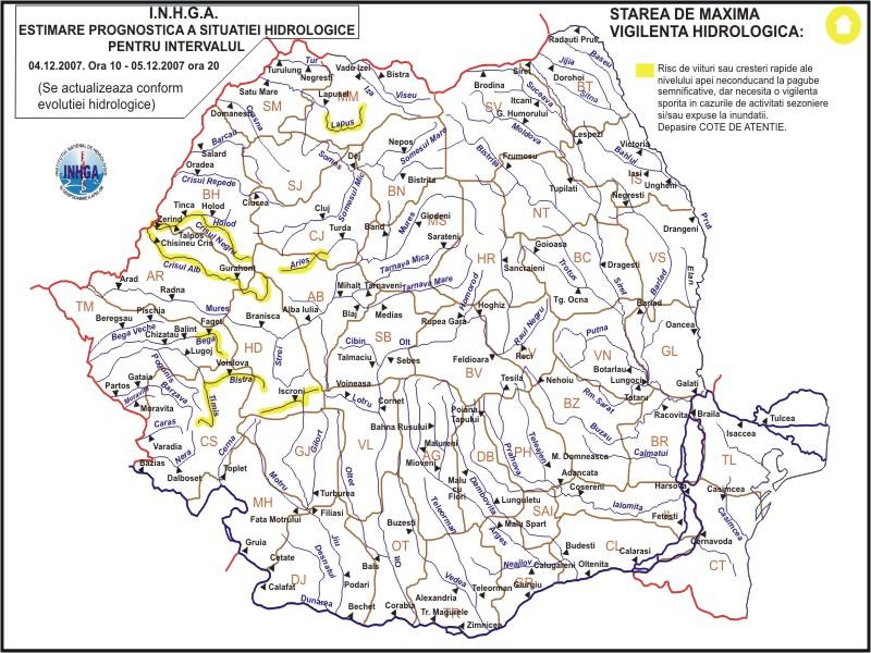 Hidrografia Romaniei