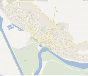Harta calarasi