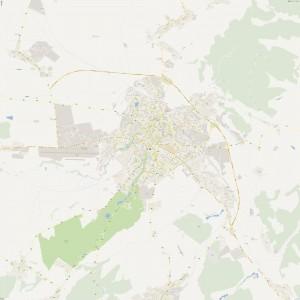 Harta Sibiu