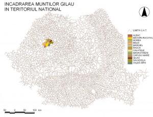Harta Muntii Gilau