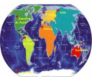 Continentele lumii