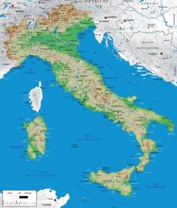 harta Italia