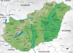 harta Ungaria