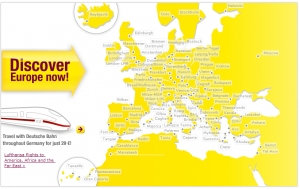 Zbor Low Cost - GermanWings - Destinatii