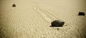 Pietre-Miscatoare din Death-Valley