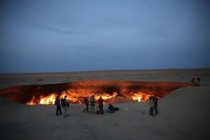 Craterul Darvaza