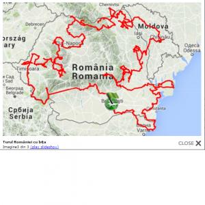 turul romaniei cu bicicleta
