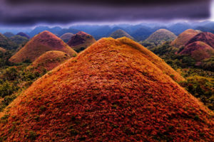 dealurile de ciocolata filipine