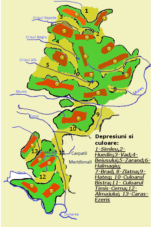 Joc identificare munti Carpatii Occidentali