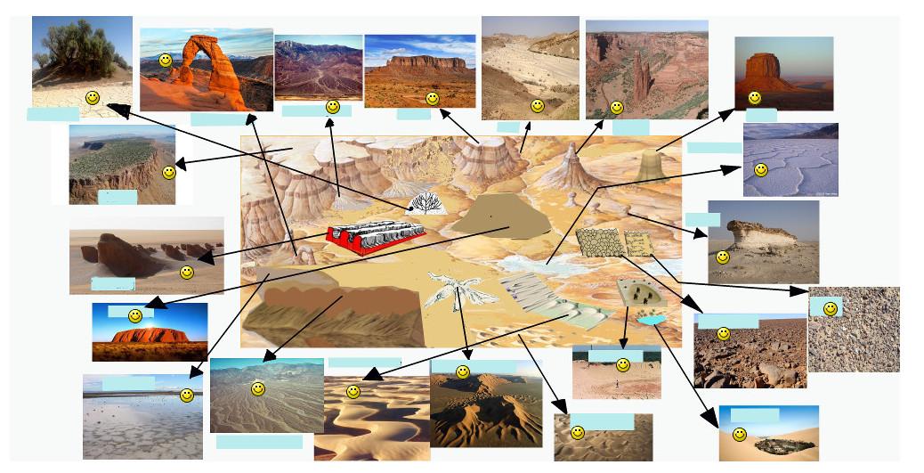 Joc geografie formele reliefului desertic
