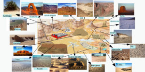 Formele reliefului desertic